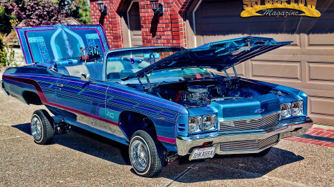 "1972 Chevy Impala Convertible ""Tropical Breeze"""